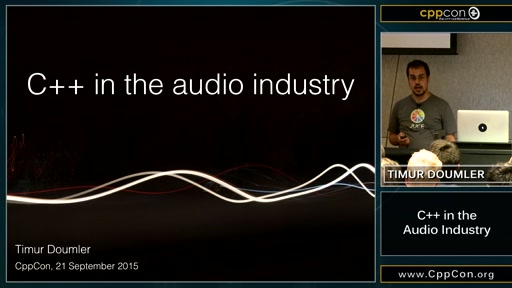 C++ in the Audio Industry