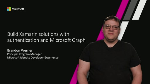 Build Xamarin solutions with authentication and Microsoft Graph