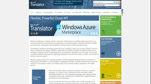 Microsoft DevRadio: Integrating Microsoft Translator into your Windows 8 apps