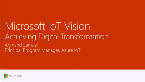 Learn about Microsoft IoT Vision