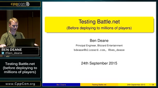 Testing Battle.net (before deploying to millions of players)