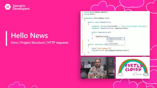 Hello News (Intro, project structure, and HTTP requests)
