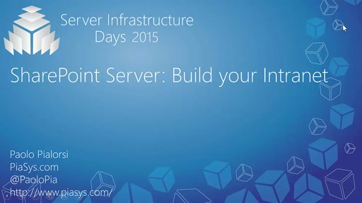 SharePoint Server: Build your Intranet - CP05
