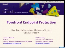 Katapult02: Forefront Endpoint Protection
