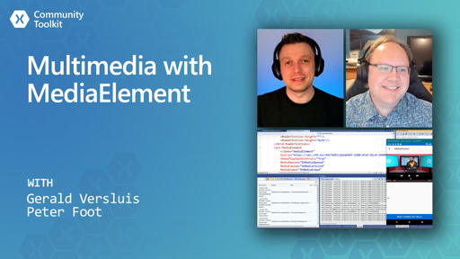 Multimedia with MediaElement (Xamarin Community Toolkit)