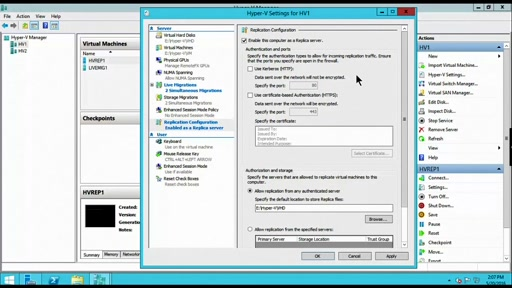 (Part 2) Server Consolidation: Windows Server Hyper-V configuration