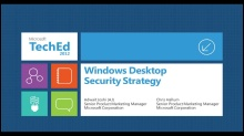 Windows 8: Desktop Security Strategy