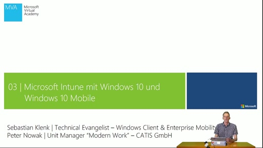 03 | Microsoft Intune mit Windows 10 und Windows 10 Mobile