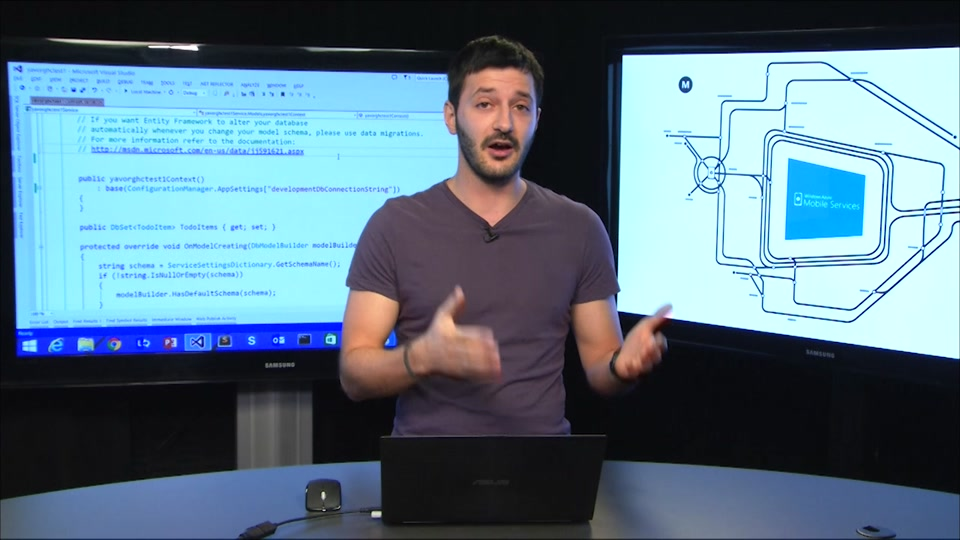 Connect to an on-premises SQL Server from Azure Mobile Services using Hybrid Connections