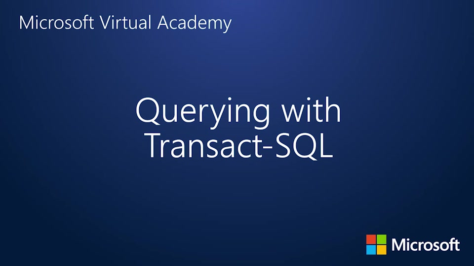 querying data with transact sql pdf