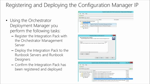 Automate Workloads with System Center Orchestrator: (10) Automating Configuration Manager with Orchestrator