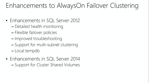 Designing Solutions for SQL Server: (04) Designing a High-Availability Solution