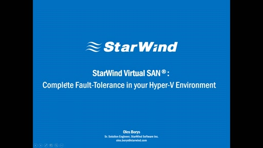 Gain Fault-Tolerance and enhance reliability of your Hyper-V environment
