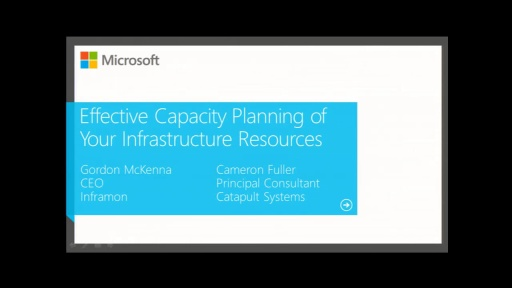 Effective Capacity Planning of Your Infrastructure Resources
