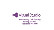 Introducing Unit Testing for SQL Server Database Projects