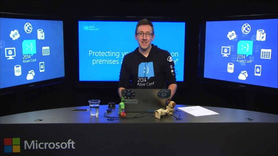 """Protecting your online and on premises assets """"Cloud Style"""""""
