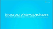 Enhance your Windows 8 Apps with Windows Live Single sign-on and SkyDrive