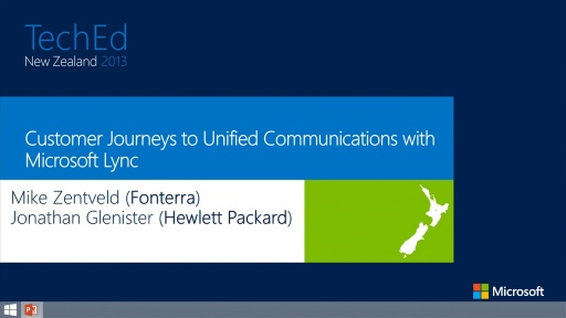 Customer Journeys to Unfied Communications with Microsoft Lync