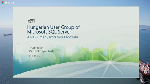 Hungarian User Group of Microsoft SQL Server