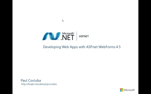 02 - Authentication and Authorization with ASP.net Webforms.