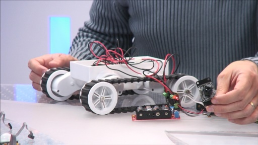 Cours MVA Gadgeteer - 3 creation d'un tank
