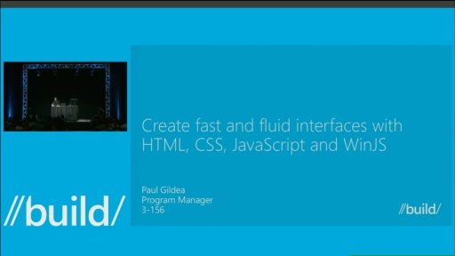 Create Fast and Fluid Interfaces with HTML and JavaScript