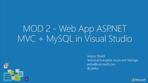 Azure4Dreamspark // Creare Web App con ASP.NET MVC + MySQL in Visual Studio