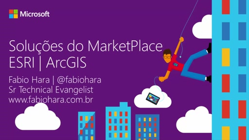 Implantando ESRI ArcGIS no Microsoft Azure - Fast Start