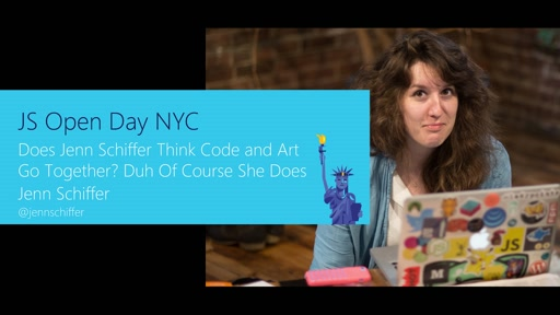 Do Art and Code Go Together? with Jenn Schiffer