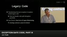 Exception-Safe Code, Part III