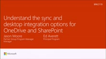 Understand the sync and desktop integration options for OneDrive and SharePoint