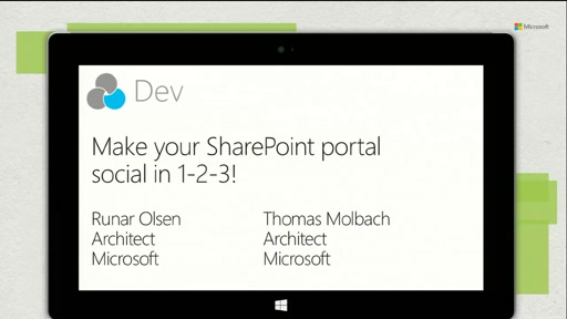 Make your SharePoint portal social in 1-2-3!