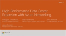 Achieve high-performance datacenter expansion with Azure Networking