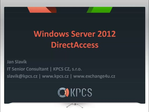 Seriál Windows Server 2012 - Direct Access 1/2