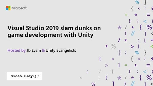 Visual Studio 2019 slam dunks on game development with Unity