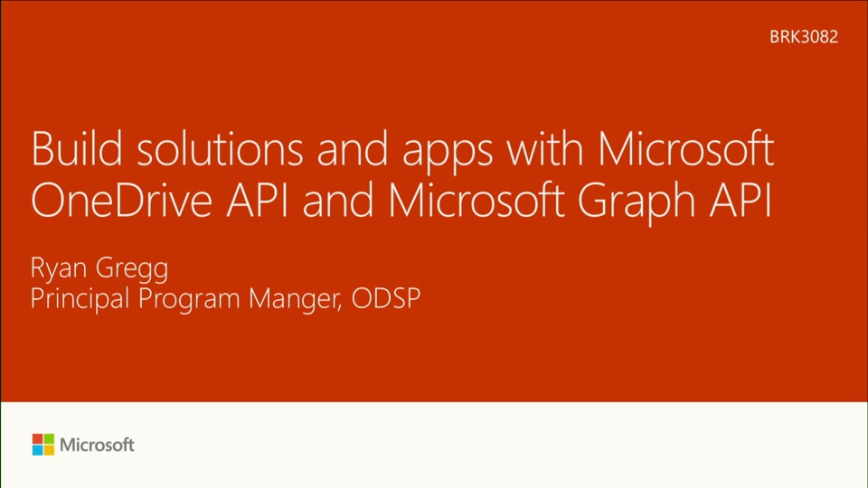 Build solutions and apps with Microsoft OneDrive API and Microsoft Graph API