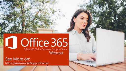 Support Corner Webcast: Office 365 Labs - Exchange Online Compliance