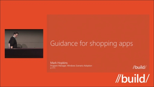 Guidance for shopping apps