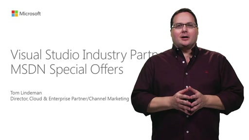 Visual Studio Industry Partners MSDN Special Offers