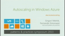 Autoscaling in Windows Azure