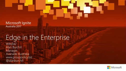 Using Edge in the Enterprise