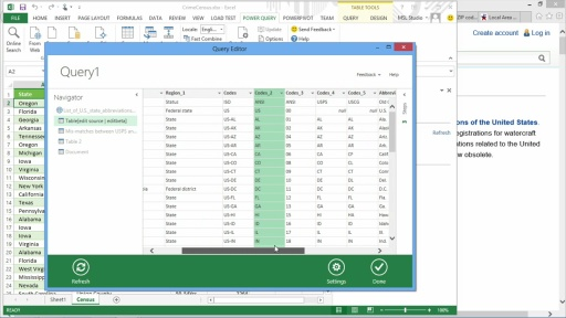 Big Data Analytics: (01) Data Mash-Ups with Power Query and PowerPivot