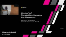 Who Are You? The Art of Zero Knowledge User Management