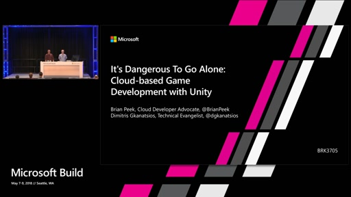 It's Dangerous To Go Alone: Cloud-based Game Development with Unity