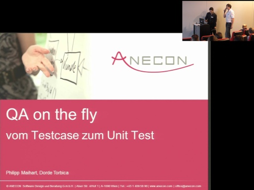 Development - Quality included - QA on the fly - vom Testcase zum Unit Test