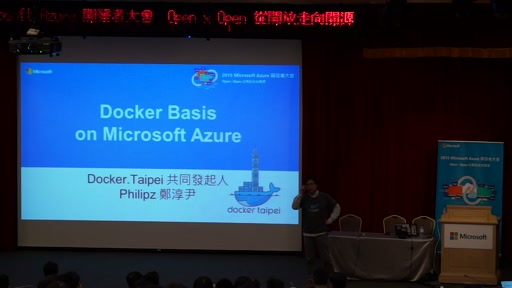 Docker Basic on Microsoft Azure