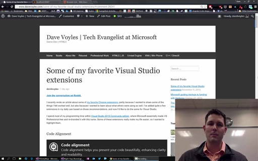 Some of my favorite Visual Studio extensions