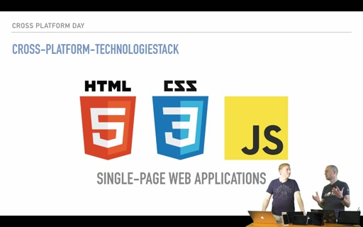 Cross Platform Development mit HTML5/JS - Teil 1: Intro