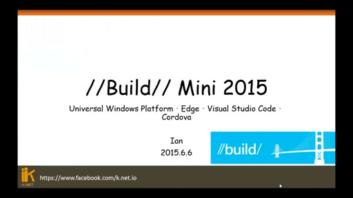 Windows10dev UWP , Visual Studio 2015 Cordova Tool