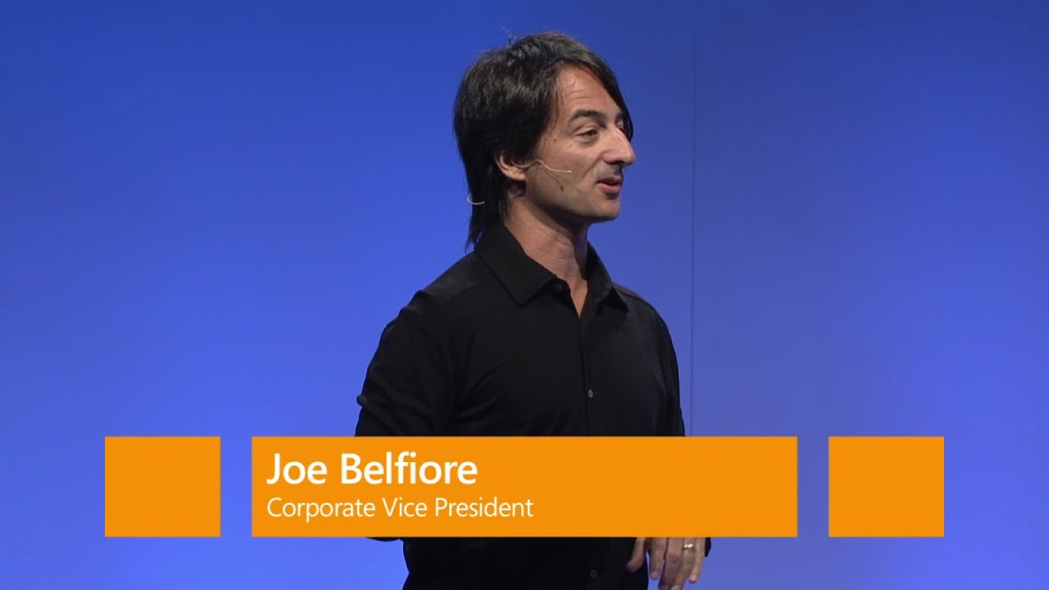 Eight Platform Announcements – Joe Belfiore, Windows Phone 8